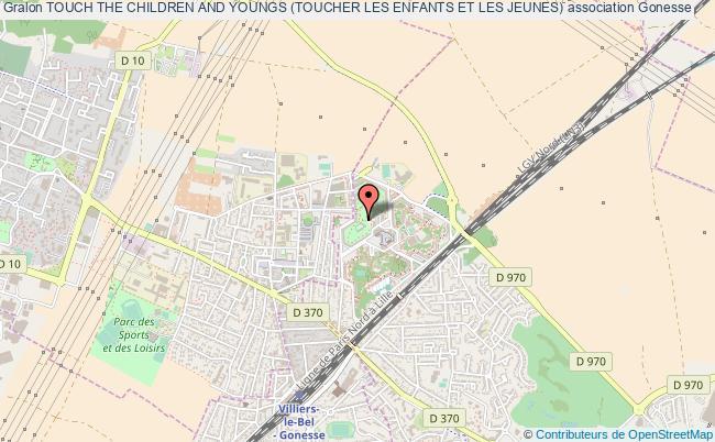 plan association Touch The Children And Youngs (toucher Les Enfants Et Les Jeunes) Gonesse