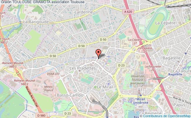 plan association Toulouse Gramota