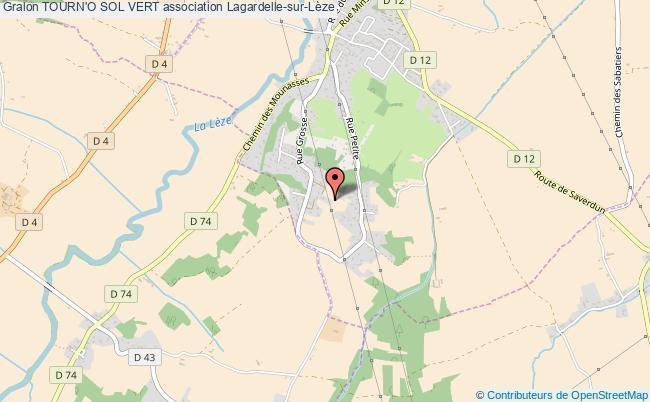 plan association Tourn'o Sol Vert Lagardelle-sur-Lèze