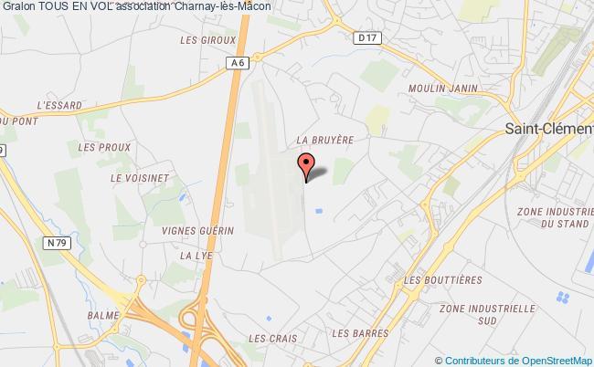 plan association Tous En Vol Charnay-lès-Mâcon