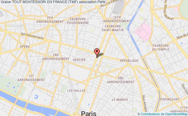 plan association Tout Montessori En France (tmf)