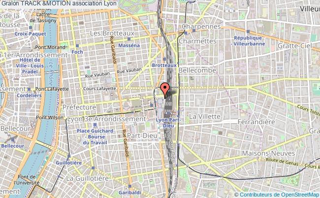 plan association Track &motion Lyon