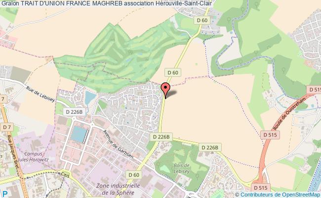 plan association Trait D'union France Maghreb