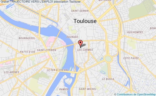plan association Trajectoire Vers L'emploi Toulouse
