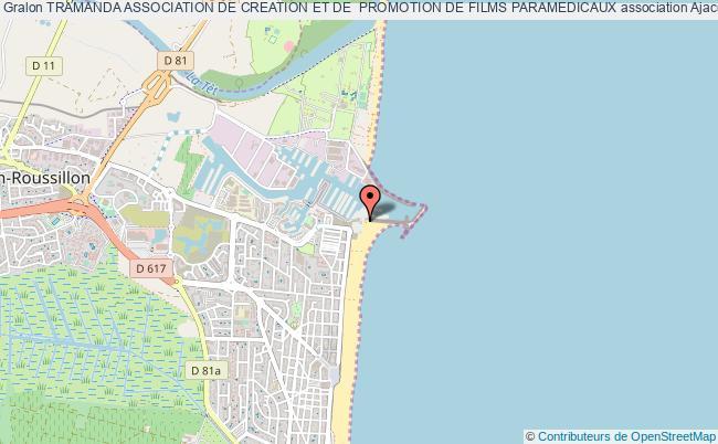 plan association Tramanda Association De Creation Et De  Promotion De Films Paramedicaux Ajaccio