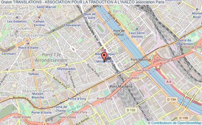 plan association Translations - Association Pour La Traduction À L'inalco Paris