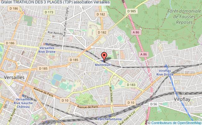 plan association Triathlon Des 3 Plages (t3p)