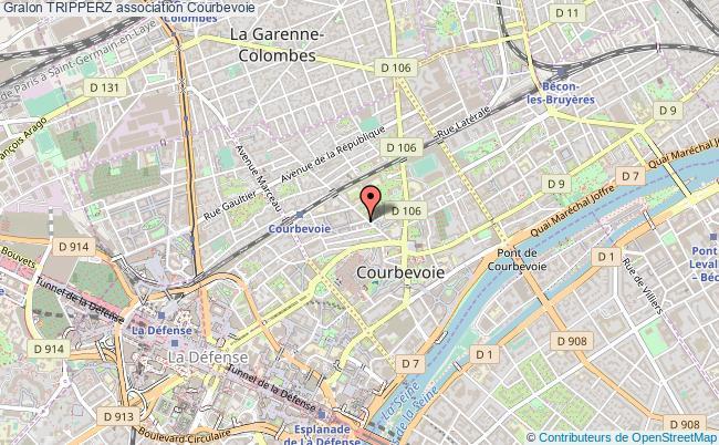 plan association Tripperz Courbevoie