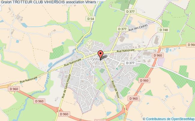 Trotteur club vihiersois association Sport