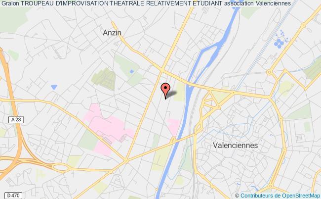 plan association Troupeau D'improvisation Theatrale Relativement Etudiant