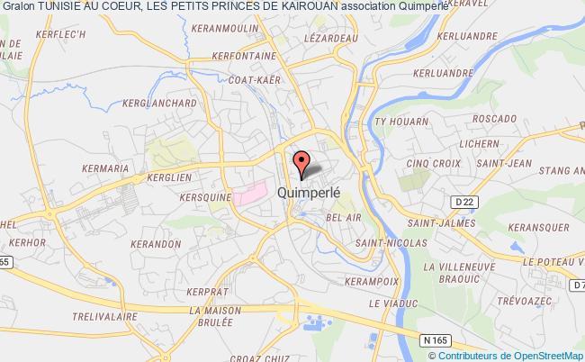plan association Tunisie Au Coeur, Les Petits Princes De Kairouan