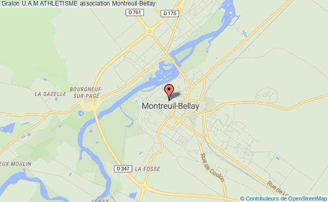 plan association U.a.m Athletisme Montreuil-Bellay