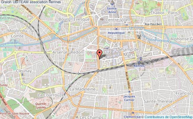 plan association Ubiteam Rennes