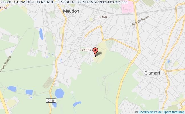 plan association Uchina-di Club Karate Et Kobudo D'okinawa