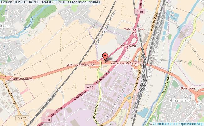 plan association Ugsel Sainte Radegonde