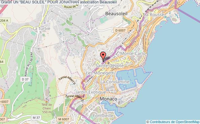"""plan association Un """"beau Soleil"""" Pour Jonathan"""