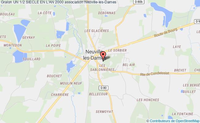 plan association Un 1/2 Siecle En L'an 2000 Neuville-les-Dames