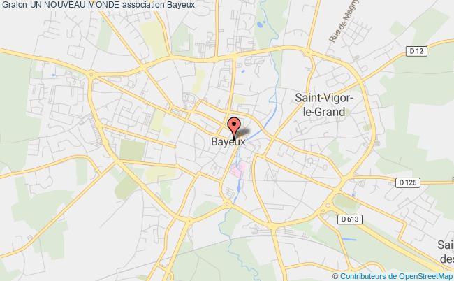 plan association Un Nouveau Monde Bayeux