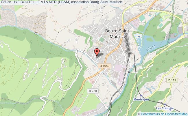 plan association Une Bouteille A La Mer (ubam)