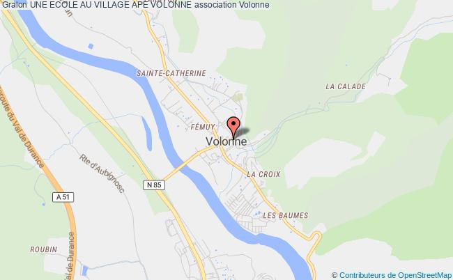 plan association Une Ecole Au Village Ape Volonne