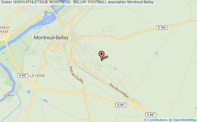 plan association Union Athletique Montreuil- Bellay Football Montreuil-Bellay