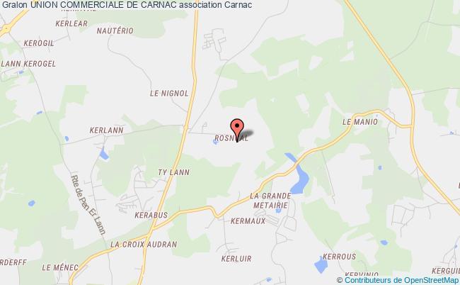 plan association Union Commerciale De Carnac