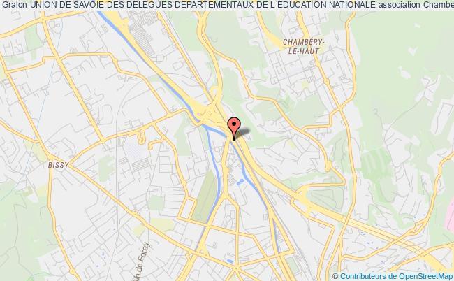plan association Union De Savoie Des Delegues Departementaux De L Education Nationale