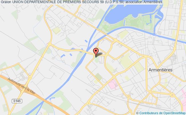95d6da4484 plan association Union Departementale De Premiers Secours 59 (u.d.p.s.59)  Armentières