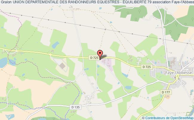 plan association Union Departementale Des Randonneurs Equestres - ÉquilibertÉ 79