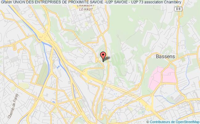 plan association Union Des Entreprises De Proximite Savoie -u2p Savoie - U2p 73