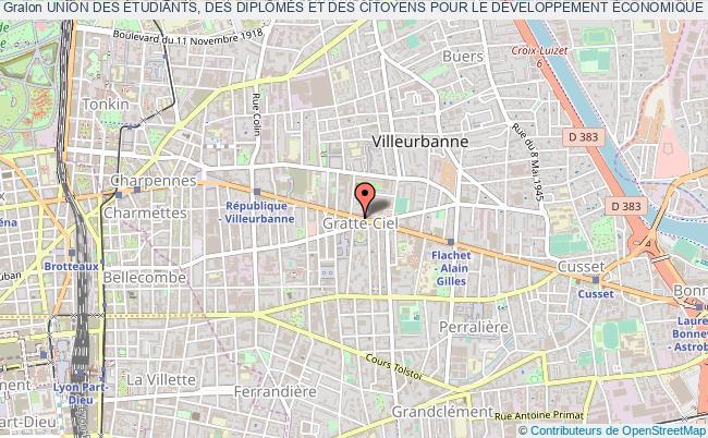 plan association Union Des Étudiants, Des DiplÔmÉs Et Des Citoyens Pour Le DÉveloppement Économique Local (unidel)