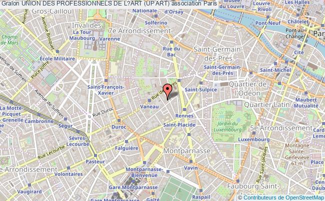 plan association Union Des Professionnels De L?art (up Art)