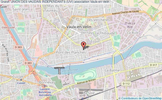 plan association Union Des Vaudais Independants (uvi)