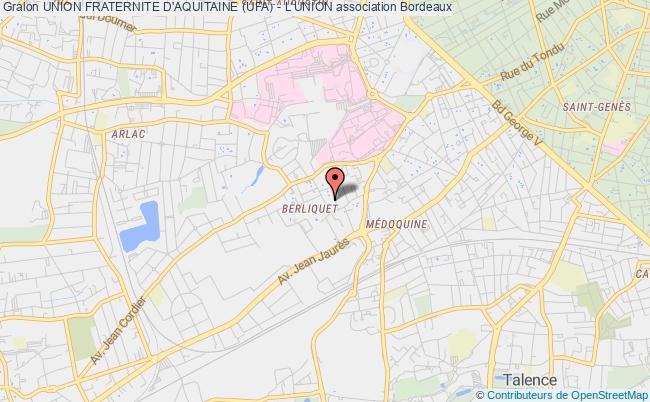 plan association Union Fraternite D'aquitaine (ufa) - L'union