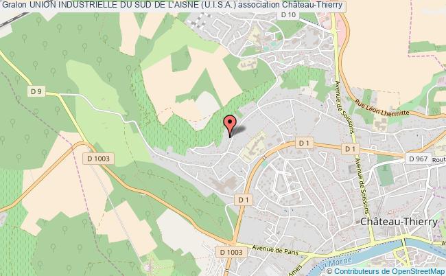 plan association Union Industrielle Du Sud De L'aisne (u.i.s.a.)