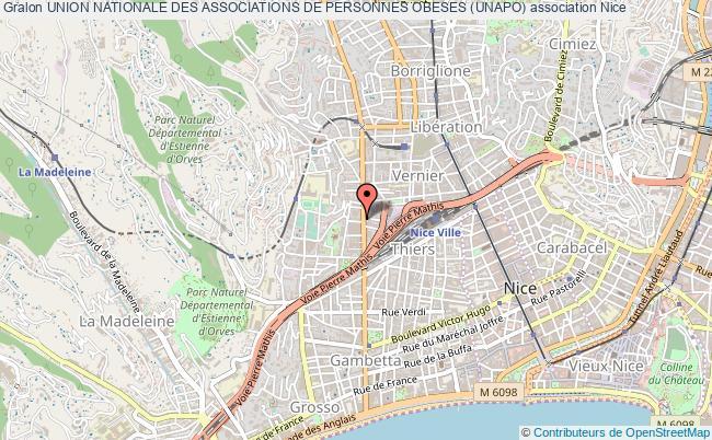 plan association Union Nationale Des Associations De Personnes Obeses (unapo)