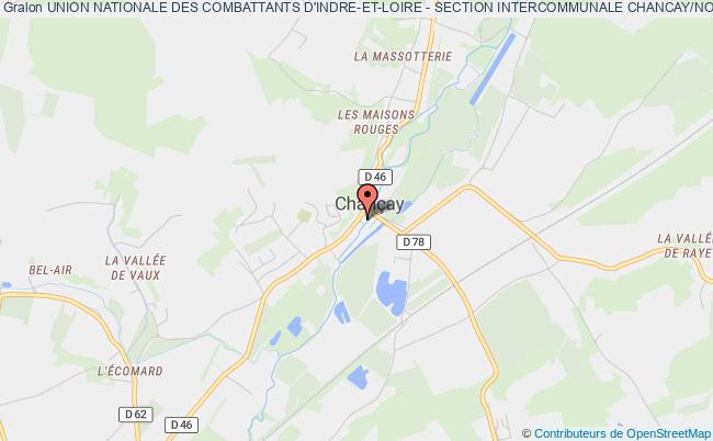 plan association Union Nationale Des Combattants D'indre-et-loire - Section Intercommunale Chancay/noizay Chançay