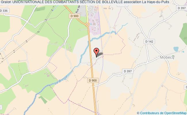 plan association Union Nationale Des Combattants Section De Bolleville Bolleville