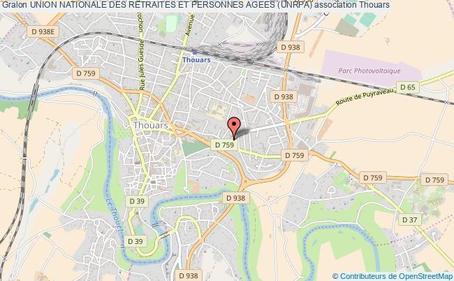 plan association Union Nationale Des Retraites Et Personnes Agees (unrpa)
