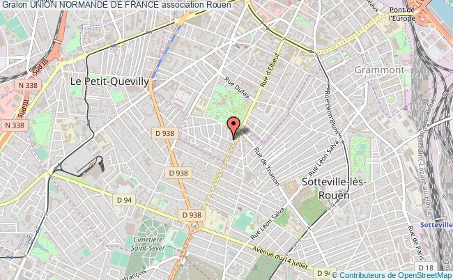 plan association Union Normande De France