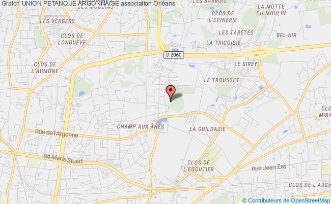 plan association Union Petanque Argonnaise