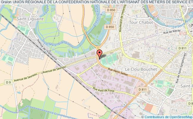 plan association Union RÉgionale De La ConfÉdÉration Nationale De L'artisanat Des MÉtiers De Service Et De Fabrication Poitou-charentes