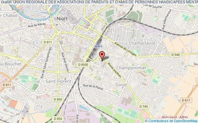 plan association Union Regionale Des Associations De Parents Et D'amis De Personnes Handicapees Mentales - Urapei Poitou-charentes
