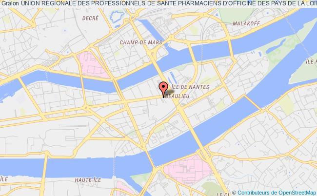 plan association Union Regionale Des Professionnels De Sante Pharmaciens D'officine Des Pays De La Loire (urps Pharmaciens Pays De La Loire)