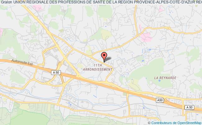 plan association Union Regionale Des Professions De Sante De La Region Provence-alpes-cote-d'azur Regroupant Les Infirmiers (urps Infirmiere Paca)