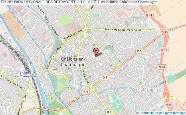 plan association Union Regionale Des Retraites F.g.t.e.-c.f.d.t.