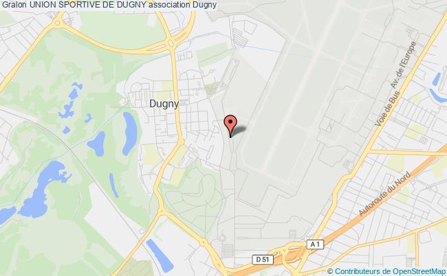plan association Union Sportive De Dugny