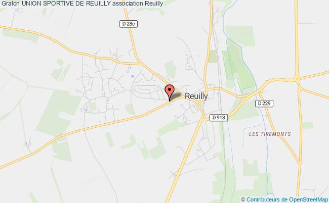 plan association Union Sportive De Reuilly Reuilly