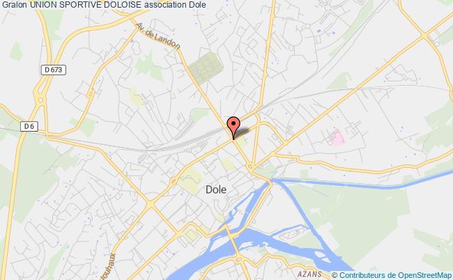 plan association Union Sportive Doloise Dole