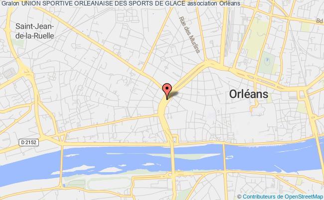plan association Union Sportive Orleanaise Des Sports De Glace